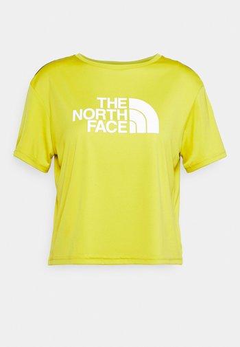 TEE - Print T-shirt - citronelle green