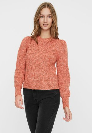 VMPEPPER  - Strickpullover - red clay