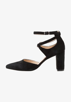LEATHER CLASSIC HEELS - Klassiska pumps - black