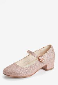 Next - GOLD SCALLOPED MARY JANE HEELS (OLDER) - Baleríny s páskem - pink - 2