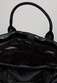 River Island - QUILTED SHOPPER - Tote bag - black - 4