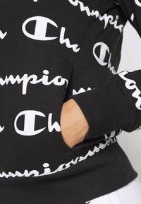 Champion - HOODED - Jersey con capucha - black - 5