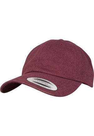 PEACHED COTTON TWILL DAD - Cap - maroon