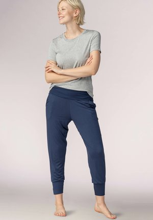 SCHLAFHOSE LANG SERIE SLEEPY&EASY - Pyjama bottoms - true blue