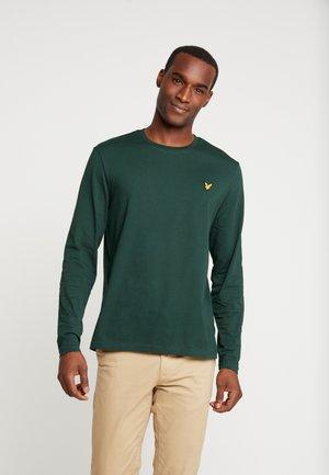 CREW NECK PLAIN - Longsleeve - jade green