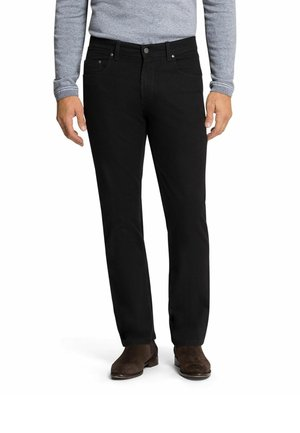 RANDO - Straight leg jeans - black raw (9810)