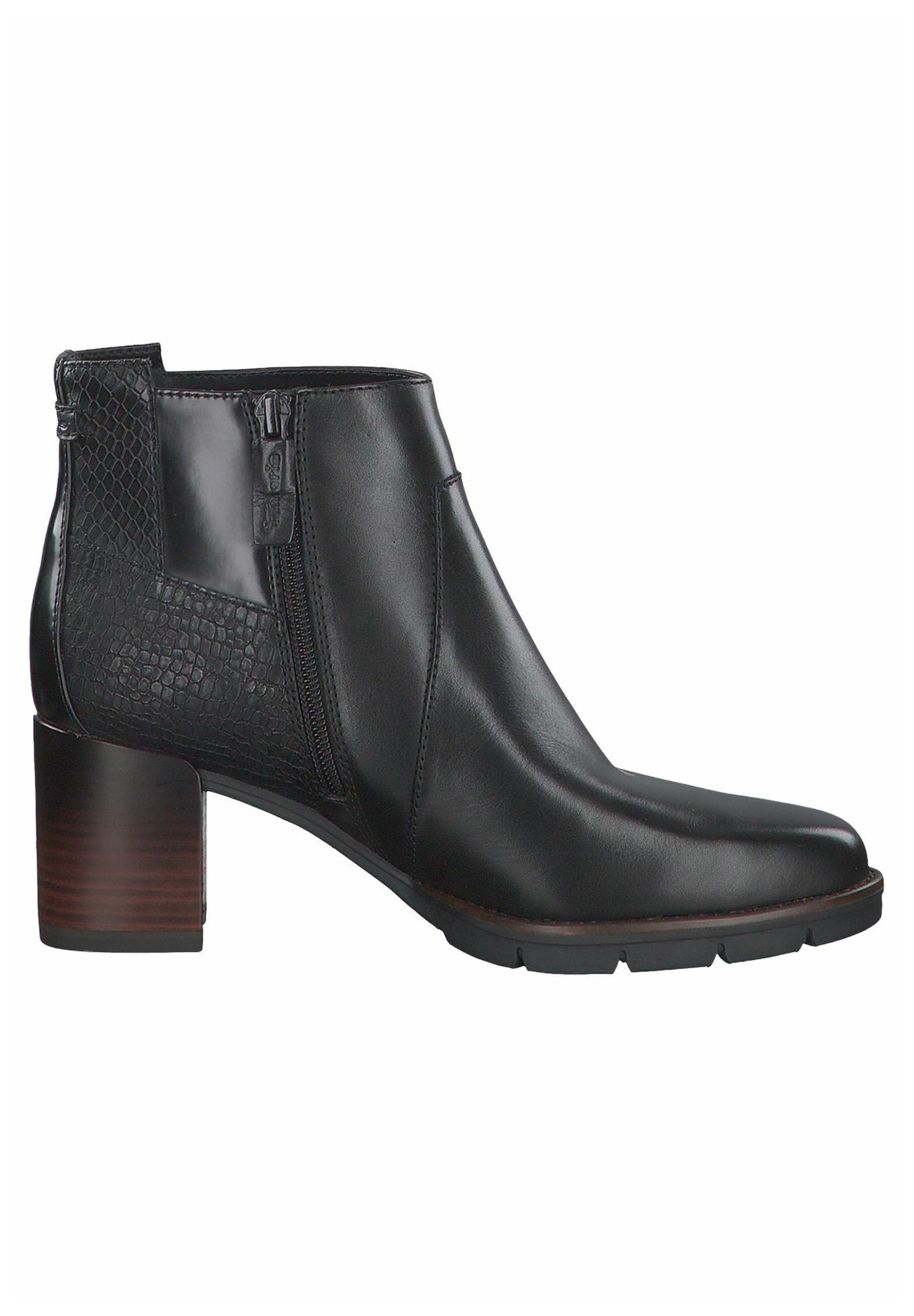 Tamaris Ankle Boot black comb/schwarz