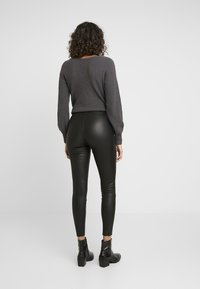 ONLY - ONLLENA - Trousers - black - 3