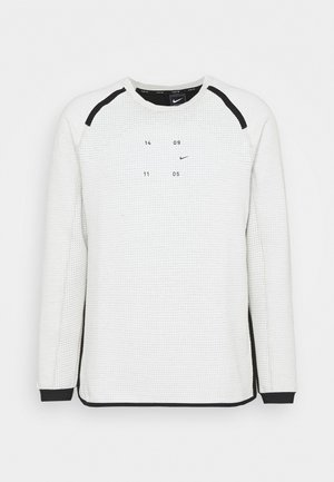 Sweatshirt - light bone/black