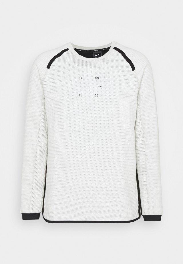 Sweatshirt - light bone/black