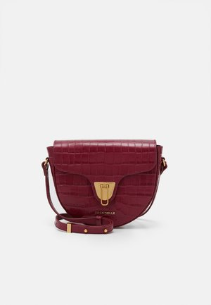 BEAT CROCO SHINY SOFT - Across body bag - deep violet
