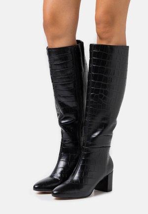 SAFFIA - Vysoká obuv - black