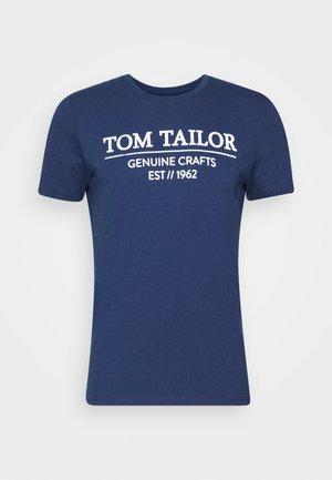T-shirt med print - after dark blue