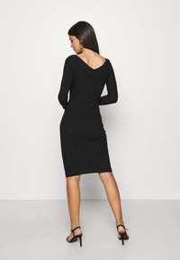 Even&Odd - JUMPER DRESS - Etuikjole - black - 2