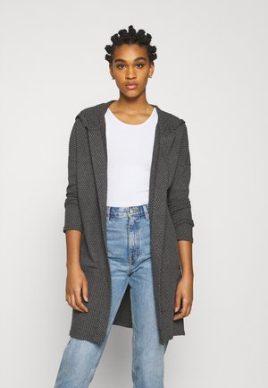 ONLDIAMOND LONG CARDIGAN  - Vest - dark grey melange