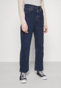 Levi's® - RIBCAGE STRAIGHT ANKLE - Jeans straight leg - noe dark mineral - 3