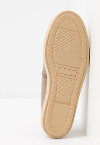Grand Step Shoes - EVITA PLAIN - Espadrilles - metallic rose - 6