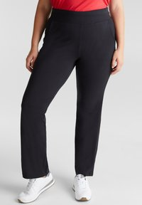 Esprit Sports - Tracksuit bottoms - black - 0
