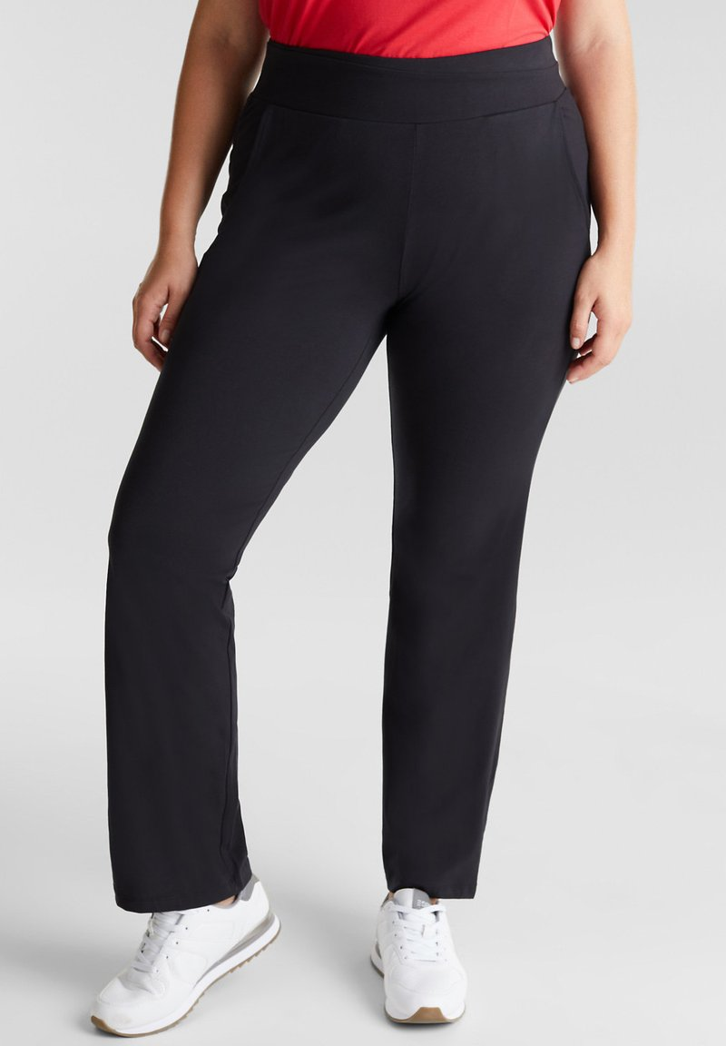 Esprit Sports - Tracksuit bottoms - black