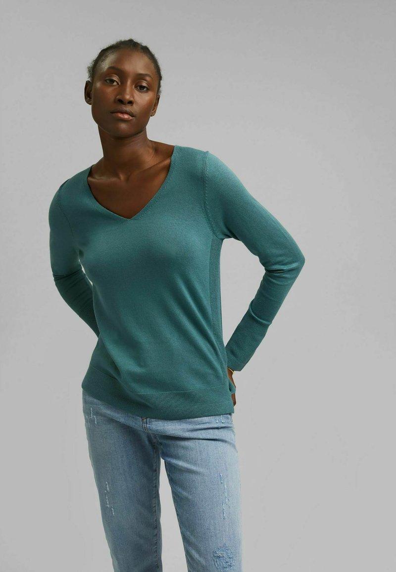 Esprit - Pullover - teal blue