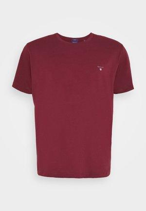 PLUS THE ORIGINAL - T-shirt - bas - port red