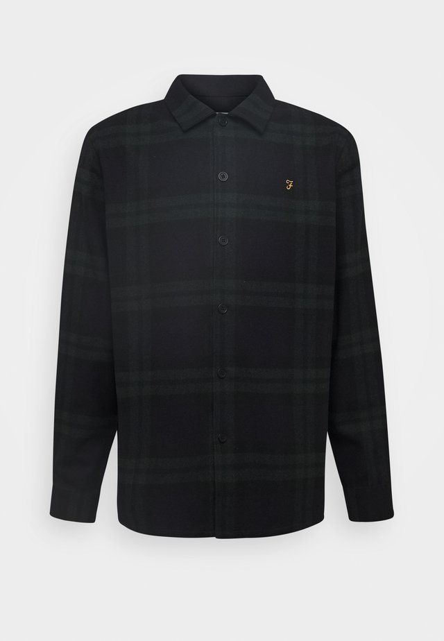 DRUMMOND CHECK - Shirt - deep olive