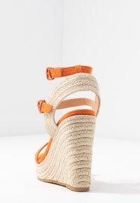 Even&Odd - Sandalen met hoge hak - orange - 5