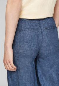 s.Oliver - Trousers - faded blue melange - 5