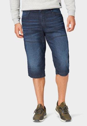 MAX BERMUDA  - Denim shorts - dark-blue denim