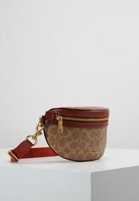 Coach - COATED SIGNATURE FANNY PACK - Bum bag - tan rust - 3