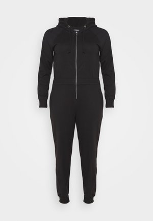 HOODED  - Overall / Jumpsuit /Buksedragter - black