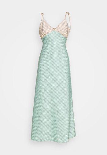 CAPRI DRESS - Maxi dress - peach/aqua