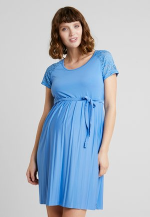 DRESS MIX - Korte jurk - blue