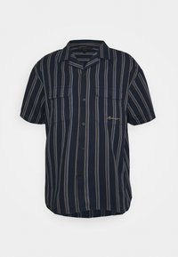 Mennace - FINE PREPPY STRIPE UNISEX - Button-down blouse - navy - 0