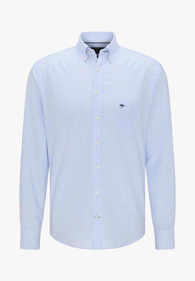 Shirt - light blue check