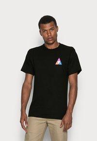 HUF - PRISM TEE - Print T-shirt - black - 0