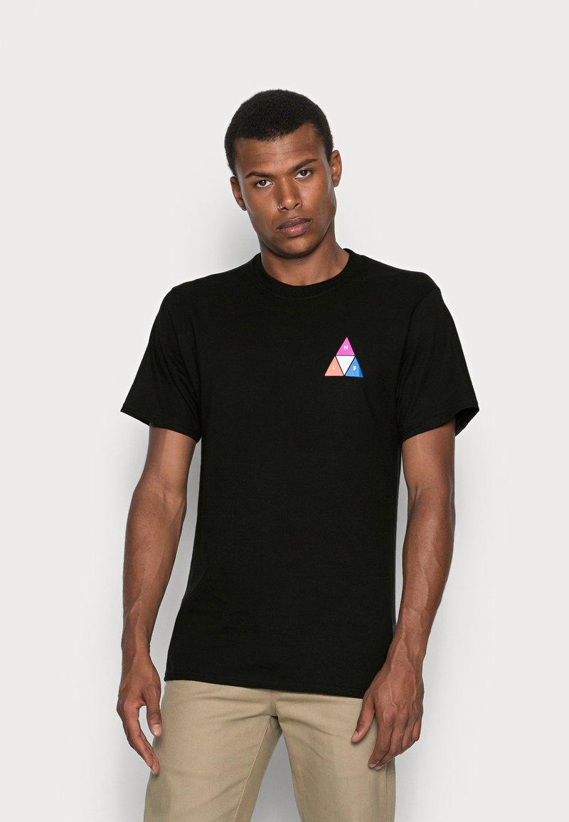 HUF - PRISM TEE - Print T-shirt - black