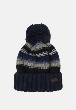 HARROW STRIPE BEANIE - Beanie - grey/blue