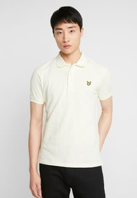 Lyle & Scott - Piké - buttercream - 0