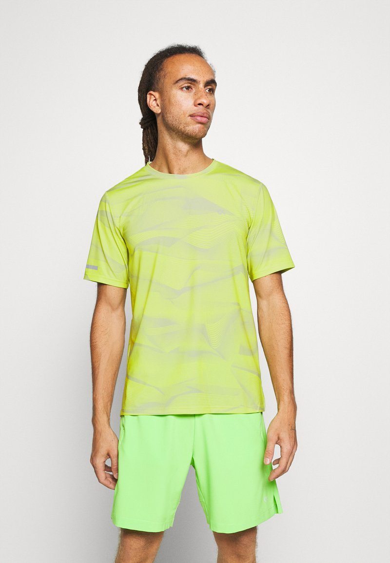 Calvin Klein Performance - SHORT SLEEVE - Triko s potiskem - green