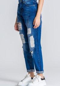 Gianni Kavanagh - Straight leg jeans - medium blue - 3