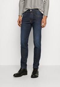 Replay - ANBASS HYPERFLEX RE-USED - Slim fit jeans - dark-blue denim - 0