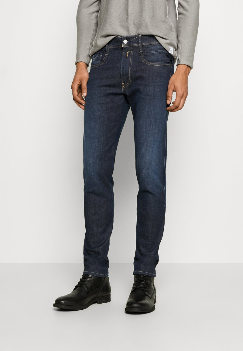 Replay - ANBASS HYPERFLEX RE-USED - Slim fit jeans - dark-blue denim