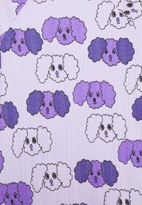 Mini Rodini - FLUFFY DOG UNISEX - Long sleeved top - purple - 2