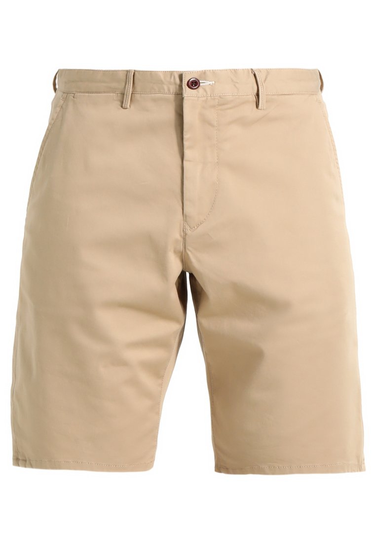 GANT RELAXED - Short - dark khaki