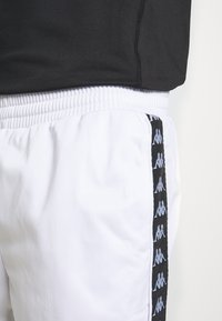 Kappa - HELGE PANT - Tracksuit bottoms - bright white - 5
