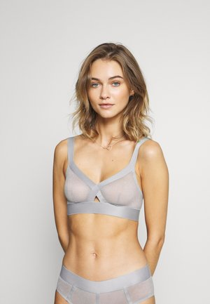 SHEERS SOFT CUP BRA - Triangel-BH - aluminium