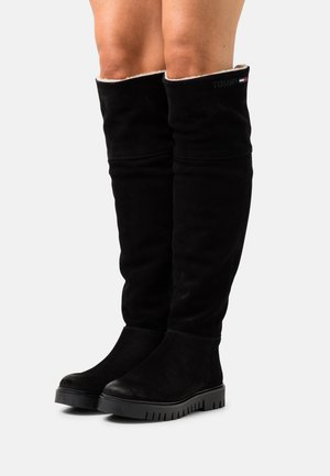 WARMLINED LONGBOOT - Over-the-knee boots - black