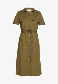 Vila - Košilové šaty - dark olive - 4