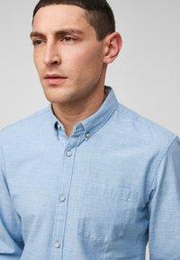 Q/S designed by - Shirt - light blue melange - 3